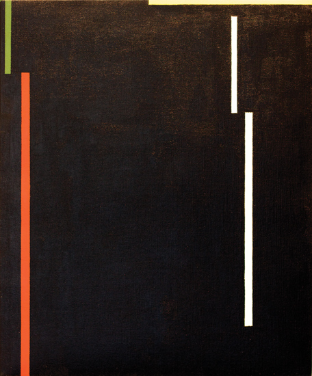 "Untitled , 2011 acrylic on canvas 24"" x 19 ¾"""