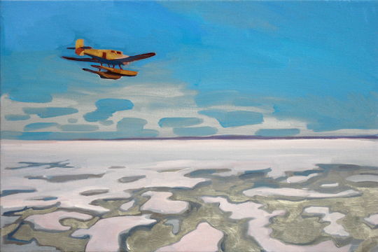 Arctic,  2008 oil on linen  20 x 30 inches