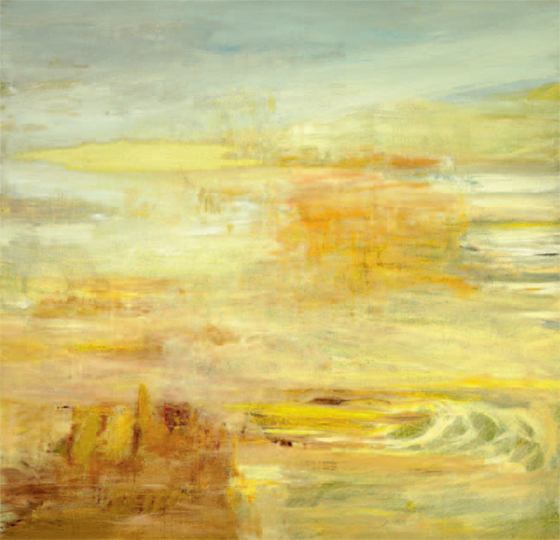 The Fourth Day (#17) , 2011 acrylic on canvas 65 × 65 inches (I)