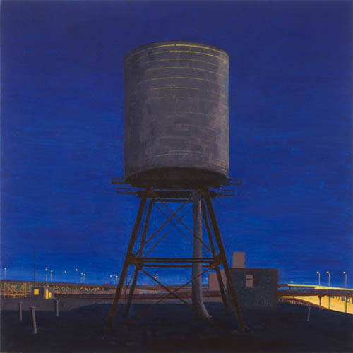 Night's First Watch , 2008 oil on linen  24 x 24 inches