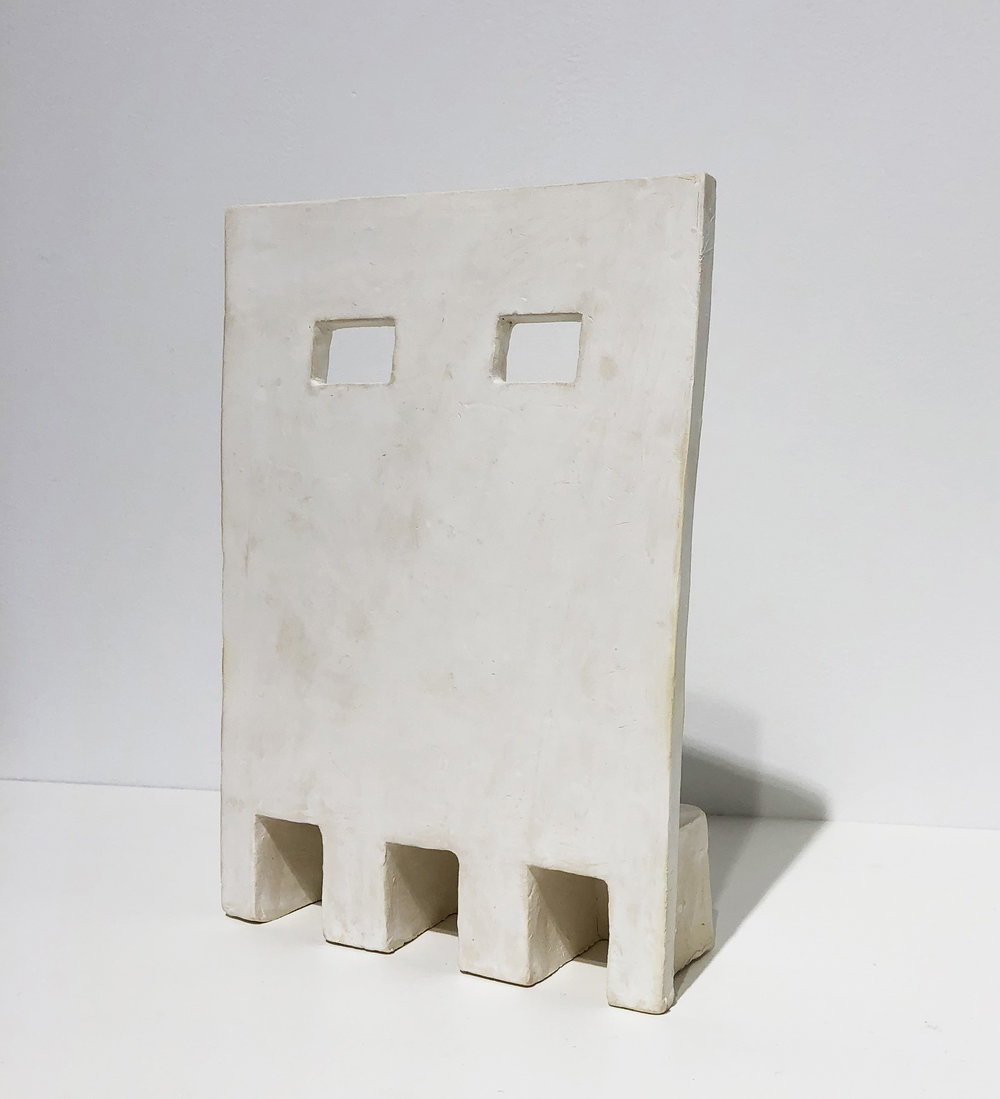 vernacular , 2018 stoneware 9 x 6 1/2 x 2 inches