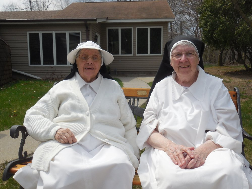 Sr. Maria of the Blessed Sacrament and Sr. Anne Mary of the Trinity
