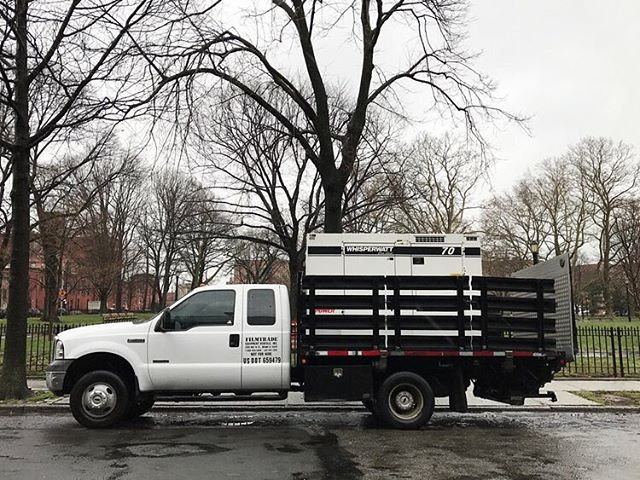Hook Stake Bed Truck & Tow Generator- Available to rent through Hook Equipment, email equipment at hook studio dot com. For full EQ inventory click link in bio. . . . . . #generatortruck #onlocation #hookequipment #hookstudio #productionequipment #griprental #lightingrental #productionrental #eqrental #brooklyn #nyc #photoshoots
