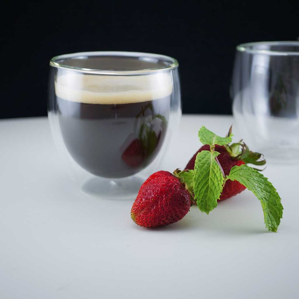 Double-walled Espresso Glass Cup