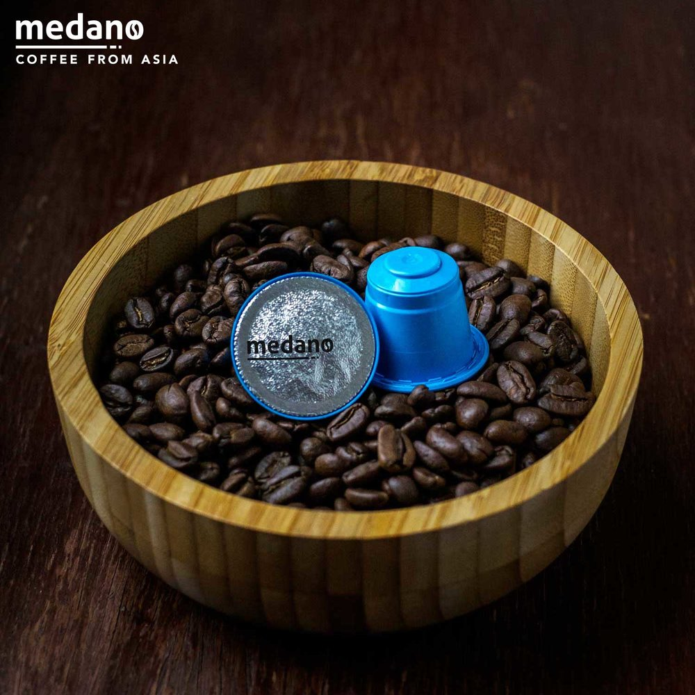 Toba Coffee  Beans  &  Pods