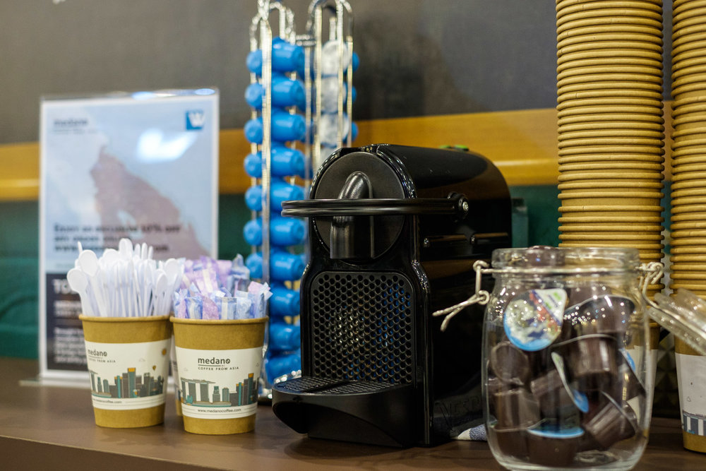 Self-Service Pod Coffee for Wantedly at Echelon Asian Summit 2017