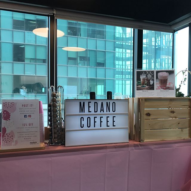 Celebrated the launch of @benefitcosmeticssg on @zalora at their pink party last Friday! We had an awesome time and we're glad that everyone enjoyed their cup of our specialty MALACCA and our uniquely curated pink drink - PINKALICIOUS! Thanks for having us!  #medanocoffee #benefitloveszalora