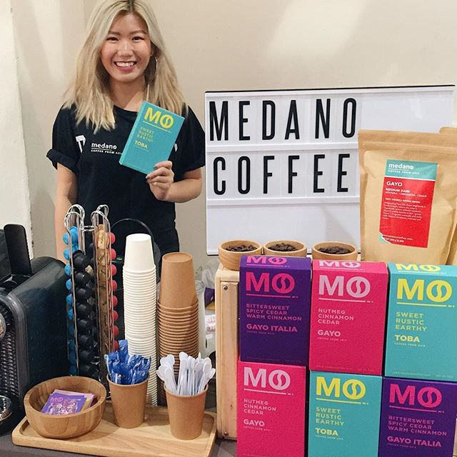Catch us at Indesign Singapore today from now till 6pm for a flavourful cup of Asian coffee to perk your day up! See you there! 😉 #medancoffee #coffee  #coffeeaddict #coffeelove #coffeetime