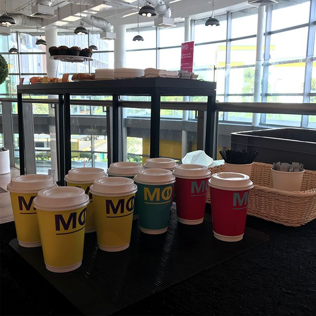 Glad to host our coffee and pastries at COURTS Google Home Demo #googlehome #courtssg #mocafe