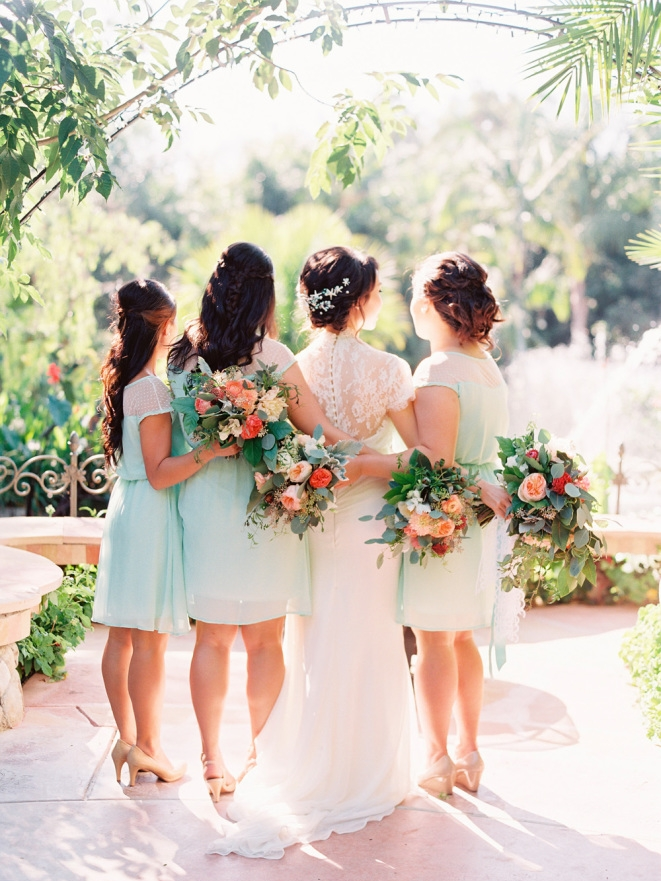 STYLE ME PRETTY : Romantic + Whimsical Garden Wedding