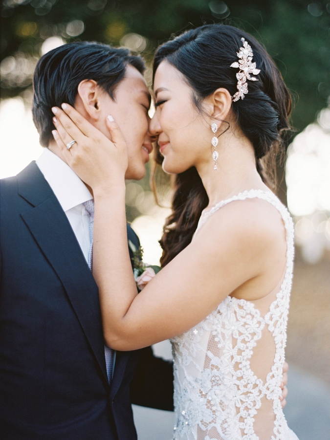 STYLE ME PRETTY : A Summer Wedding Awash In Lavender + Blush