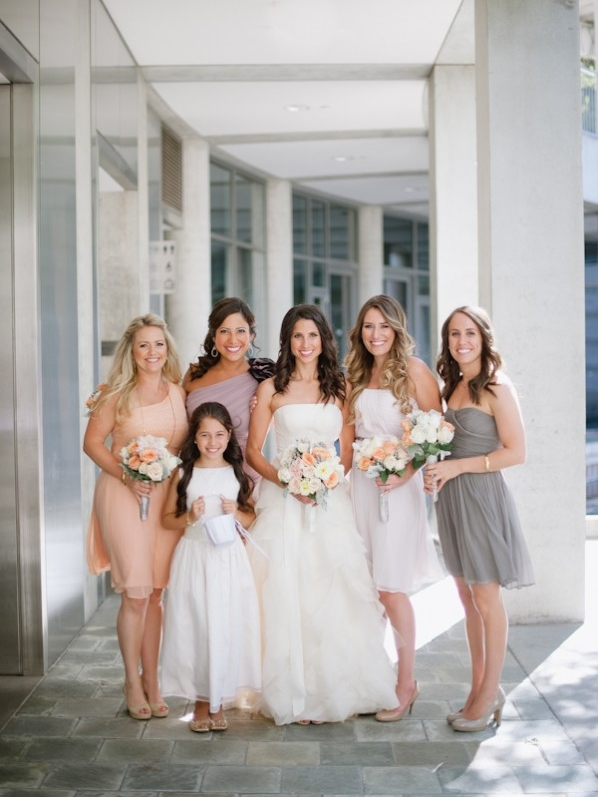 ELIZABETH ANNE DESIGNS : Soft + Modern Los Angeles Wedding
