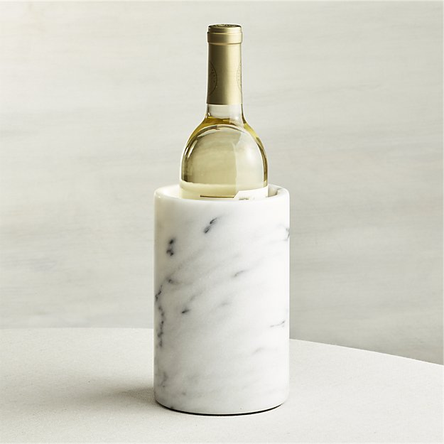 Crate & Barrel French Kitchen Marble Wine Chiller
