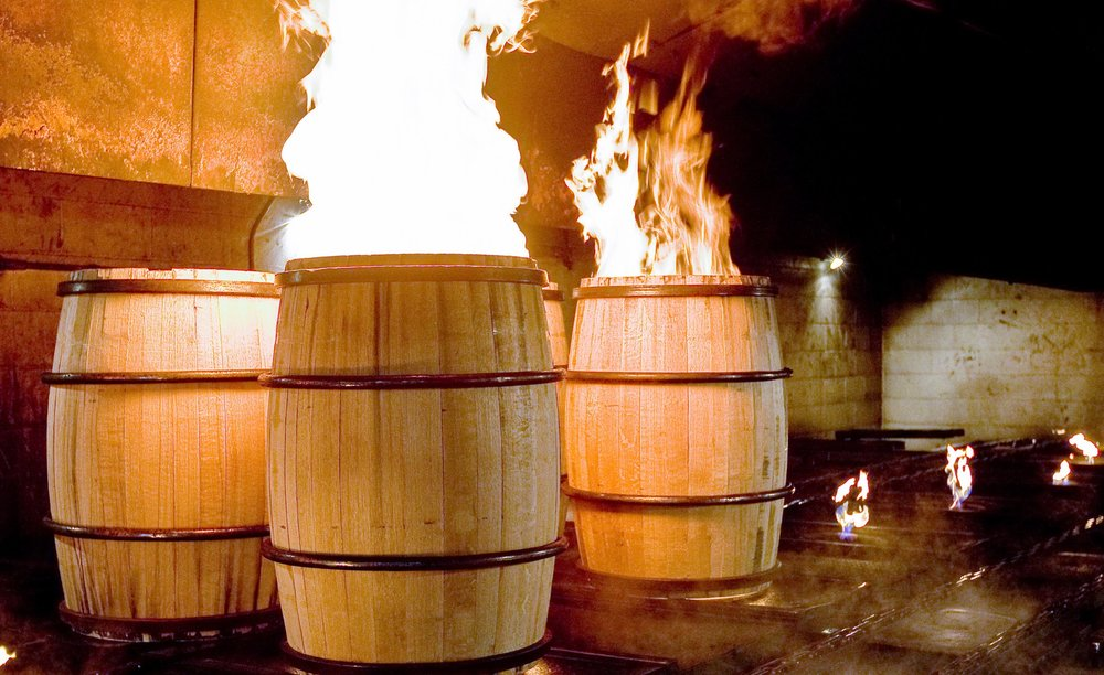 New Barrels Getting Charred