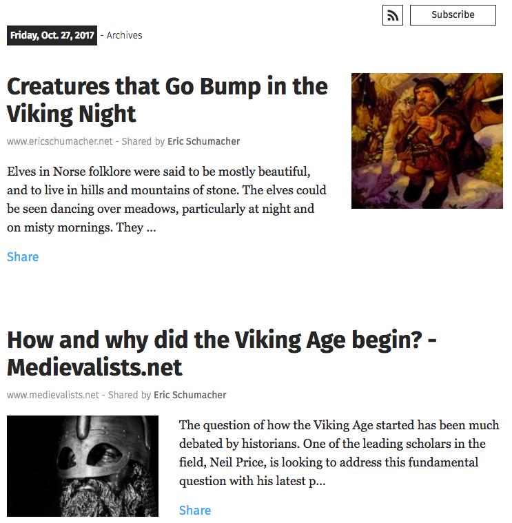 Medieval History Weekly