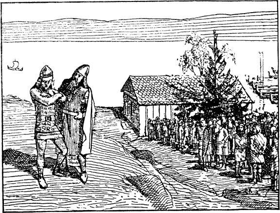 Sigurd consults Hakon the Good