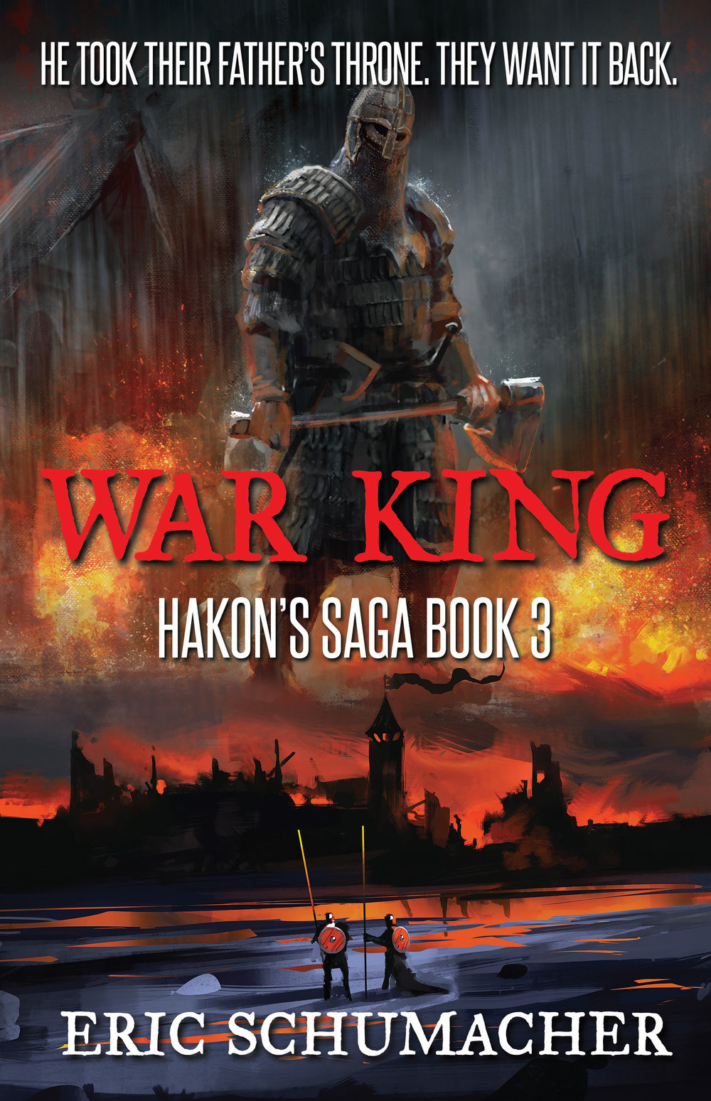 Cover of War King. Release date: Oct 15, 2018.