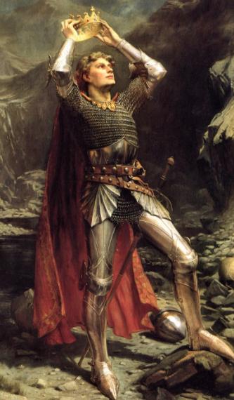 King Arthur by Charles Earnest Butler.