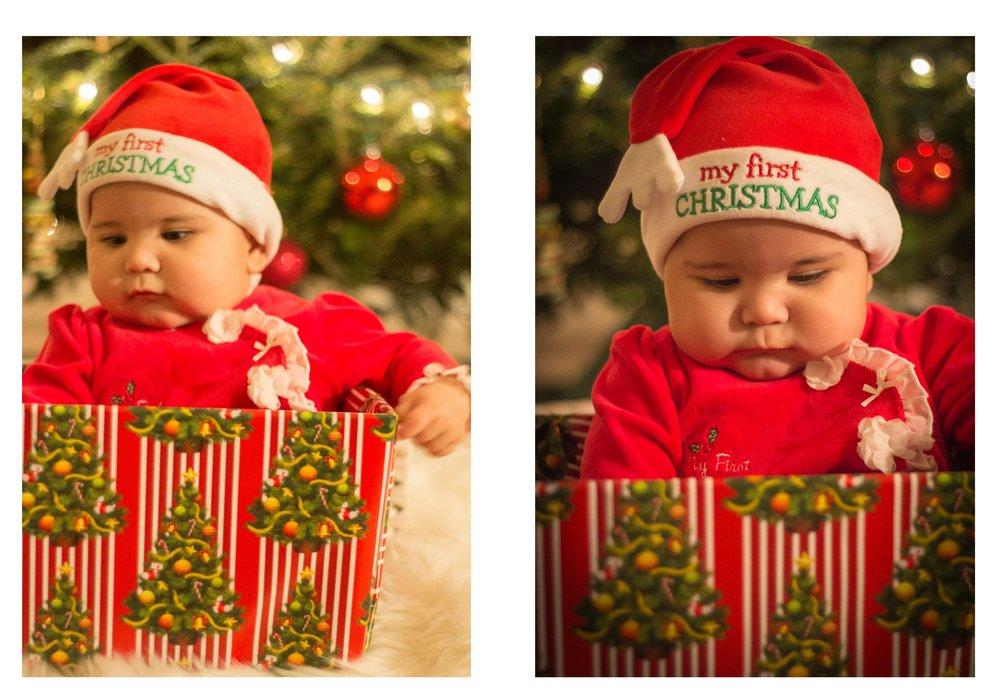 christmas photos babies
