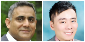 From left to right: Puneet Ahluwalia and David Wang.