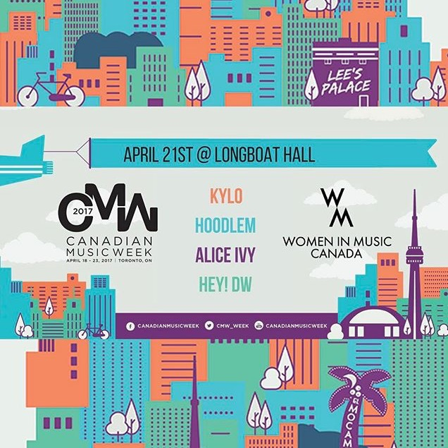 Canadian Music Week 2017 Showcase