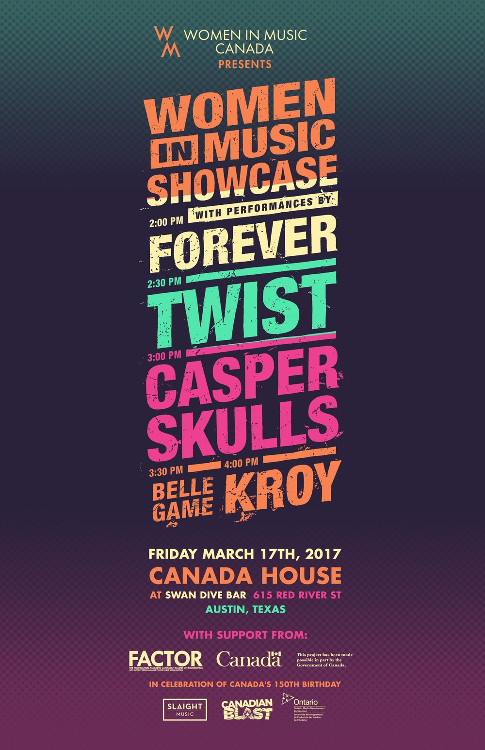 SXSW Canada House Showcase