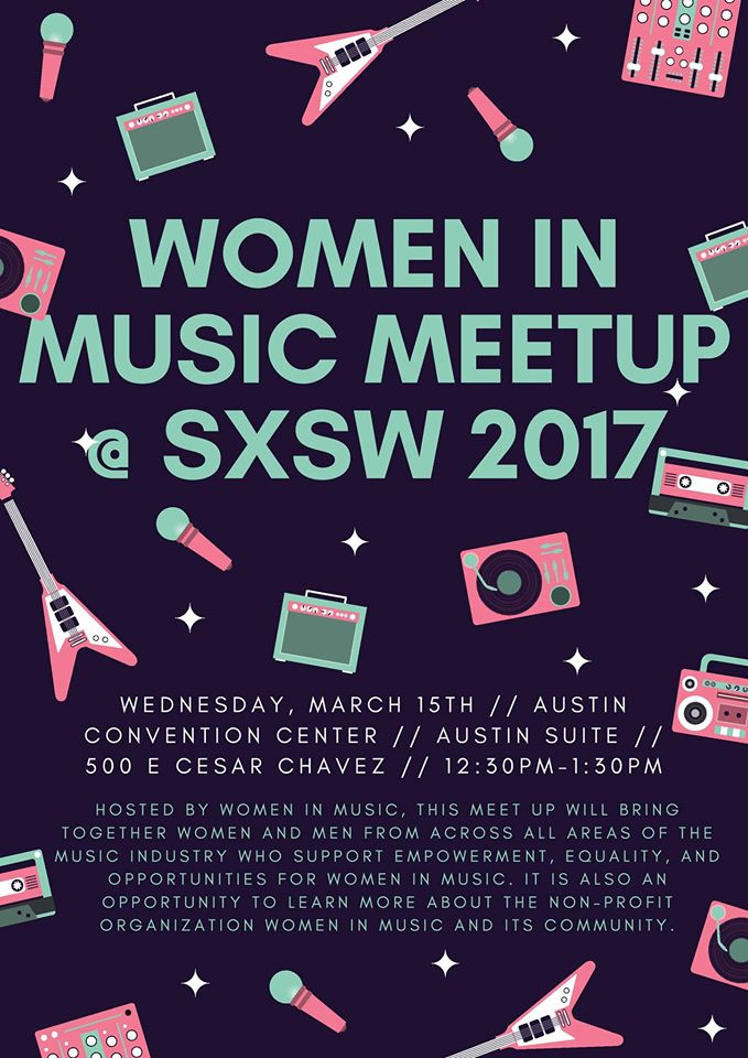SXSW - Women in Music Meetup
