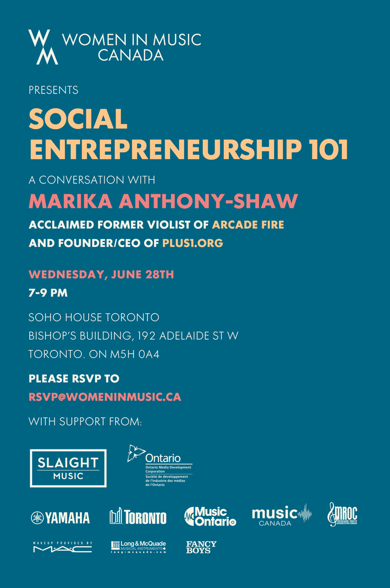 Social Entrepreneurship with Marika Anthony-Shaw