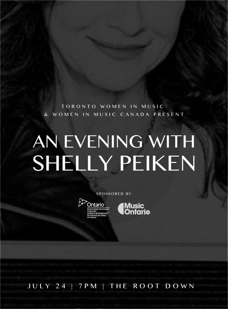 WIMC + TWIM - An evening with Shelly Peiken