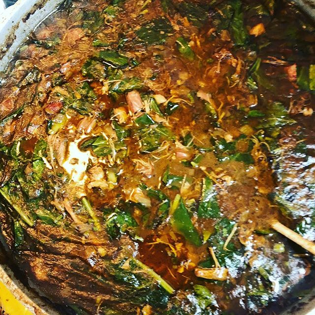 Our people @couteliernola made this FIRE gumbo with Charlie's sausage for the parades today. #charliessausage #wildboar #mardigras2018 #gumbo #couteliercooks
