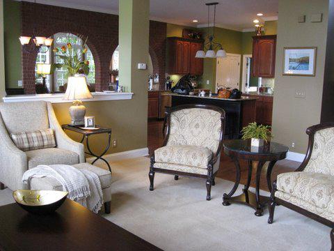 Franklin TN Living Room Area Residential Design