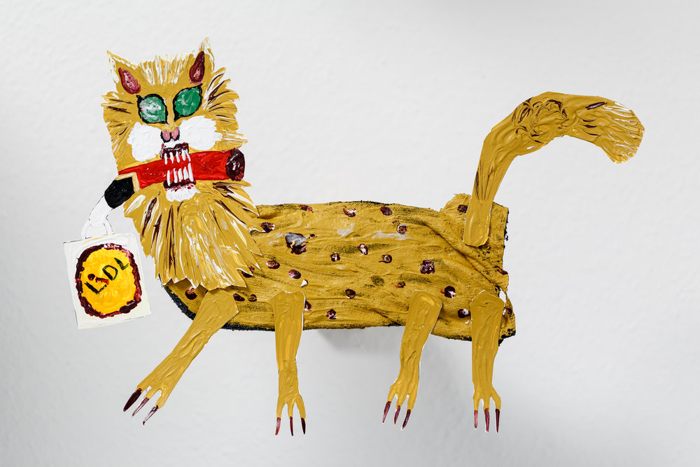 Andrew Gilbert, ´Shaka Zulu - the Musical´  (model) (detail), 2016, mixed media, 86 x 74 x 55 cm Photo: Kilian Bannwart