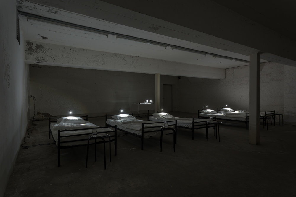 Manon,  Der Wachsaal,  2018, Room Installation, Dimension Variable  Installation view  Photo: Kilian Bannwart