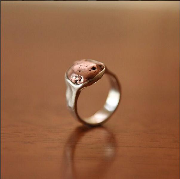 Copper in Sterling Silver, $300
