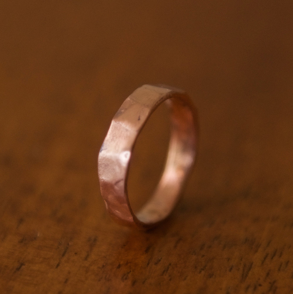 Medium Width Copper Band, $50