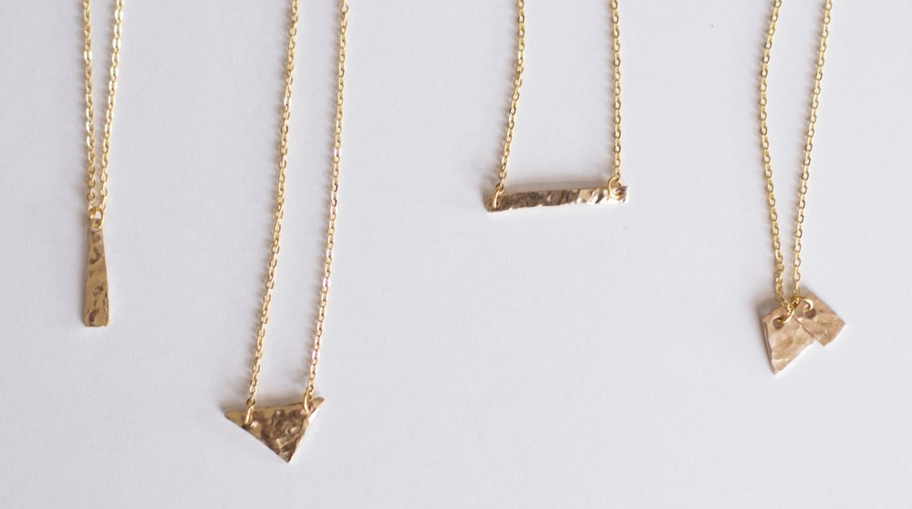 14k Gold Necklace, $100