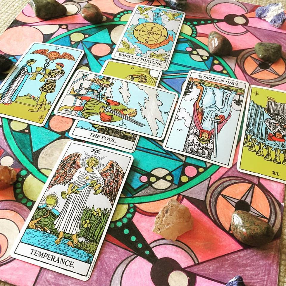 Tarot served as a spiritual check in for me during hard times and allowed me a space to reflect on personal growth.