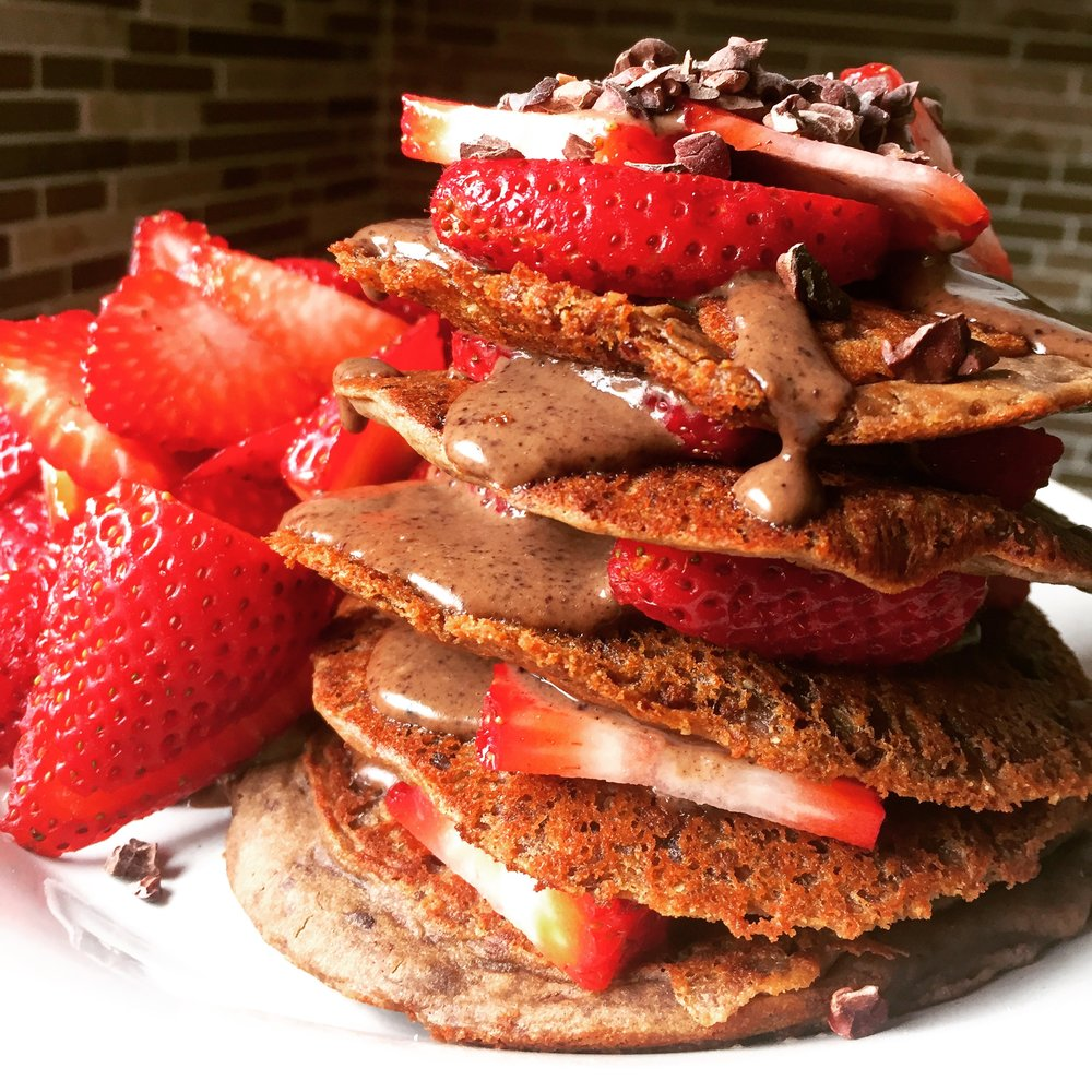 These are gorgeous pancakes and an awesome stack to cook up for someone you love.
