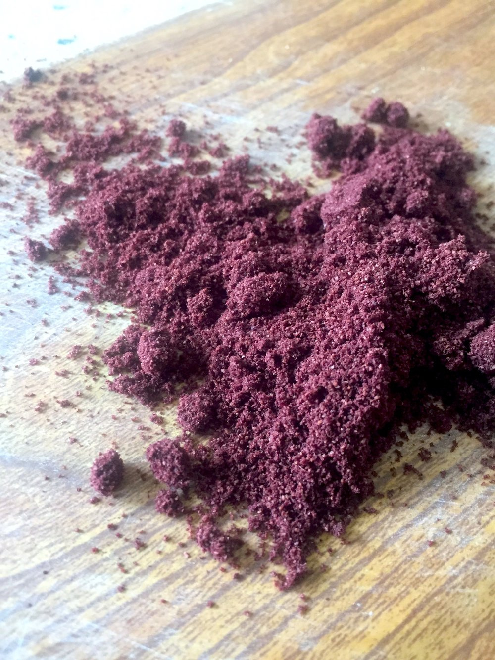 Acai powder has great flavor