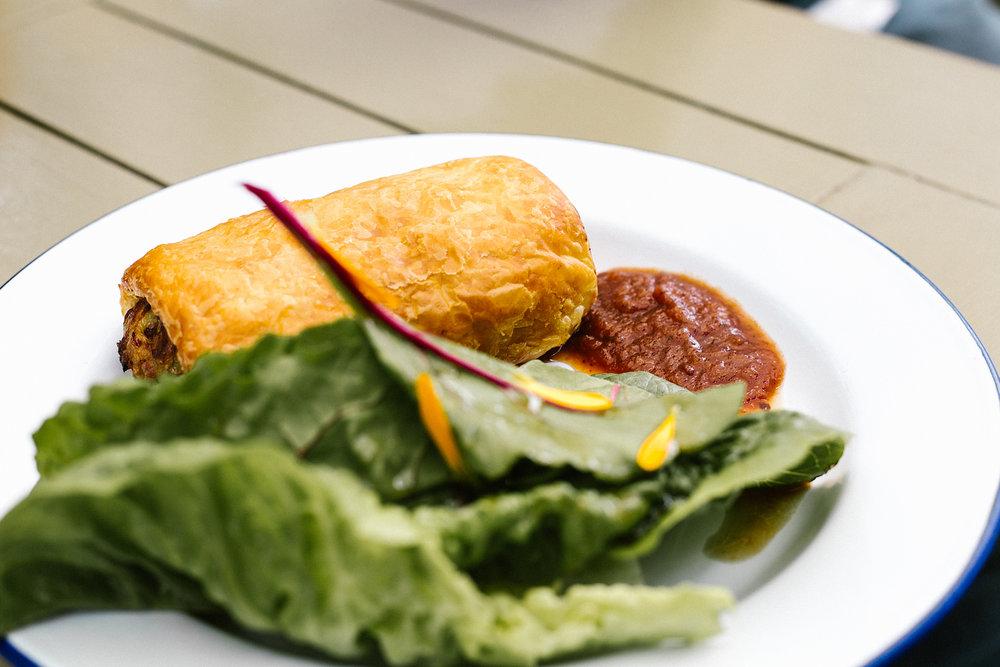 Chicken & Tarragon Pastry Parcel