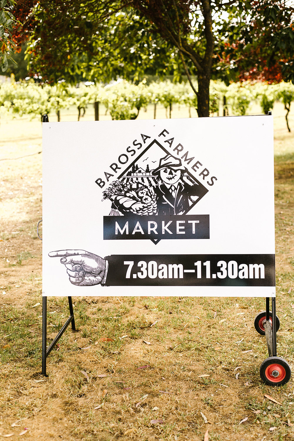 Barossa Farmer's Market is open on Saturday mornings