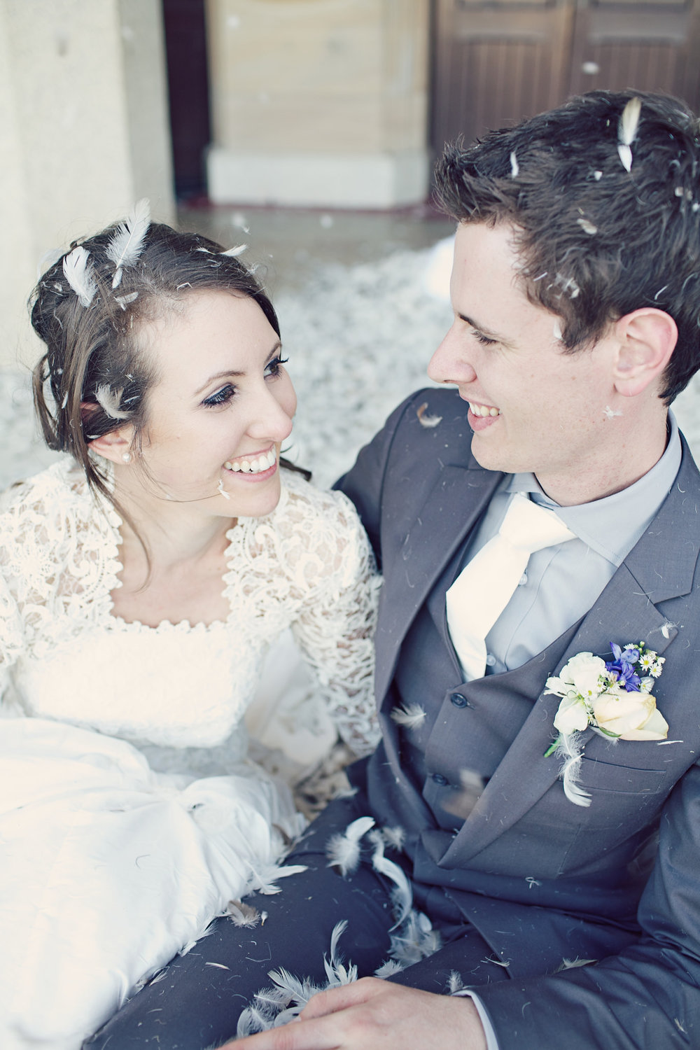 Makeup by  Marley Hammond . Photography by  Lady Jayde Photography . This one is from our wedding day.