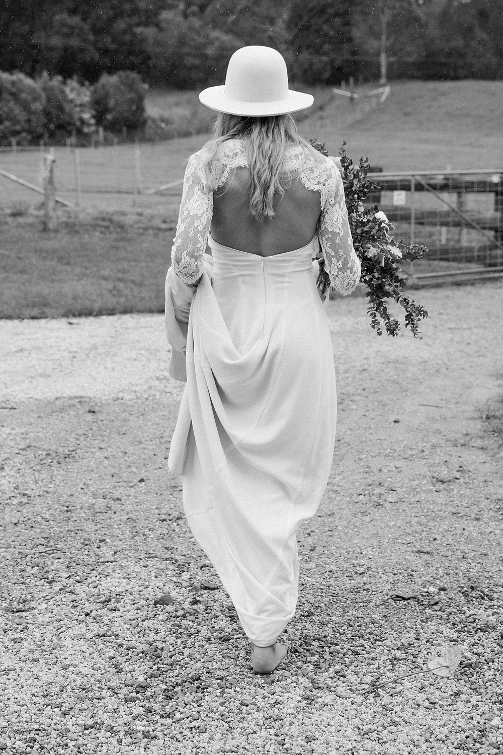 Dress by  Studio C Bridal . Photography by  Poppy & Sage Photography .