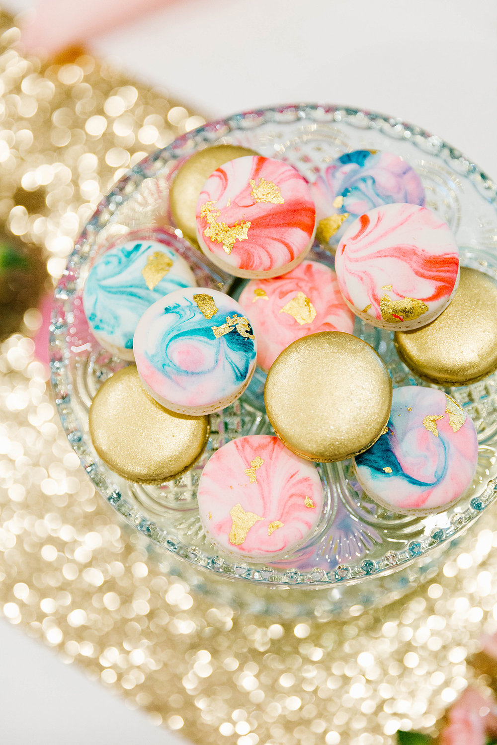 Macarons by  Macarons by Monika . Photography by  Poppy & Sage Photography .