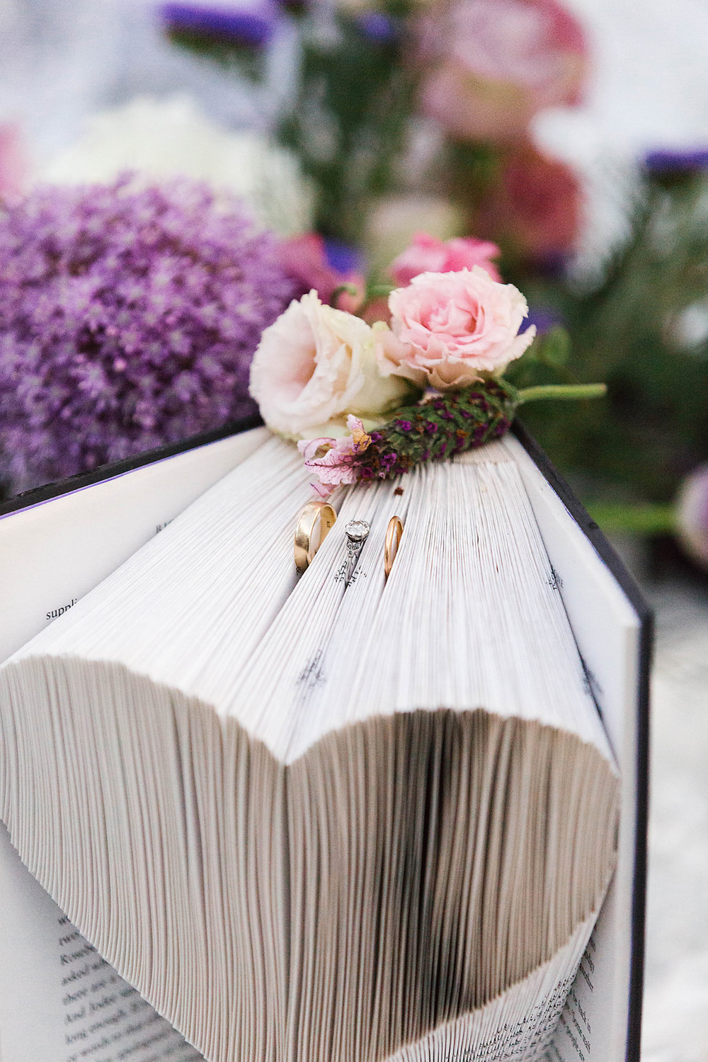 Book art by  Myaink Words . Photography by  Poppy & Sage Photography .