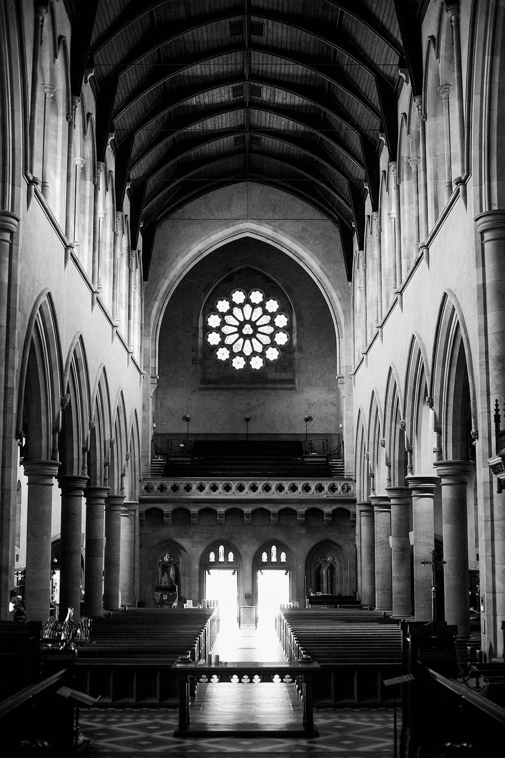 Cathedral lighting. (Image by  Poppy & Sage Photography .)
