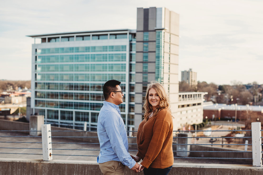 Beautiful Bentonville creating the backdrop for this image. (  Photography by Jenn Terrell  )