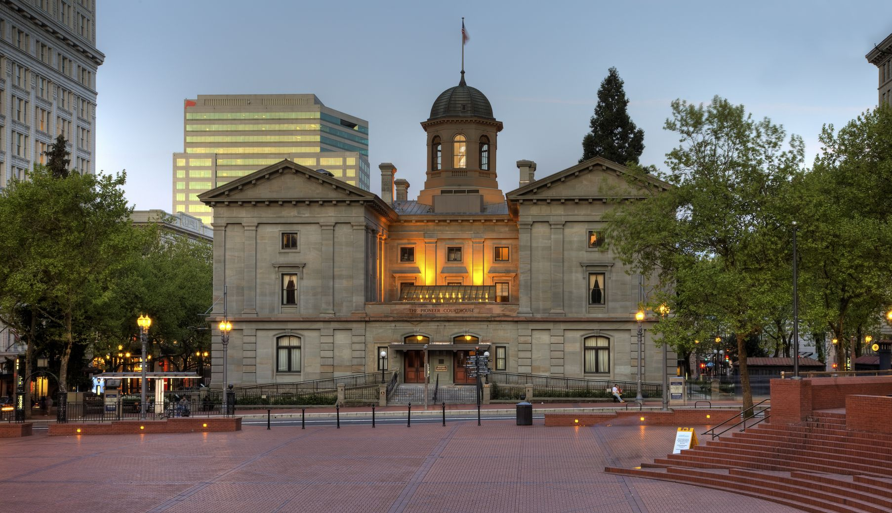 Pioneer Courthouse Square — The Urban Digest