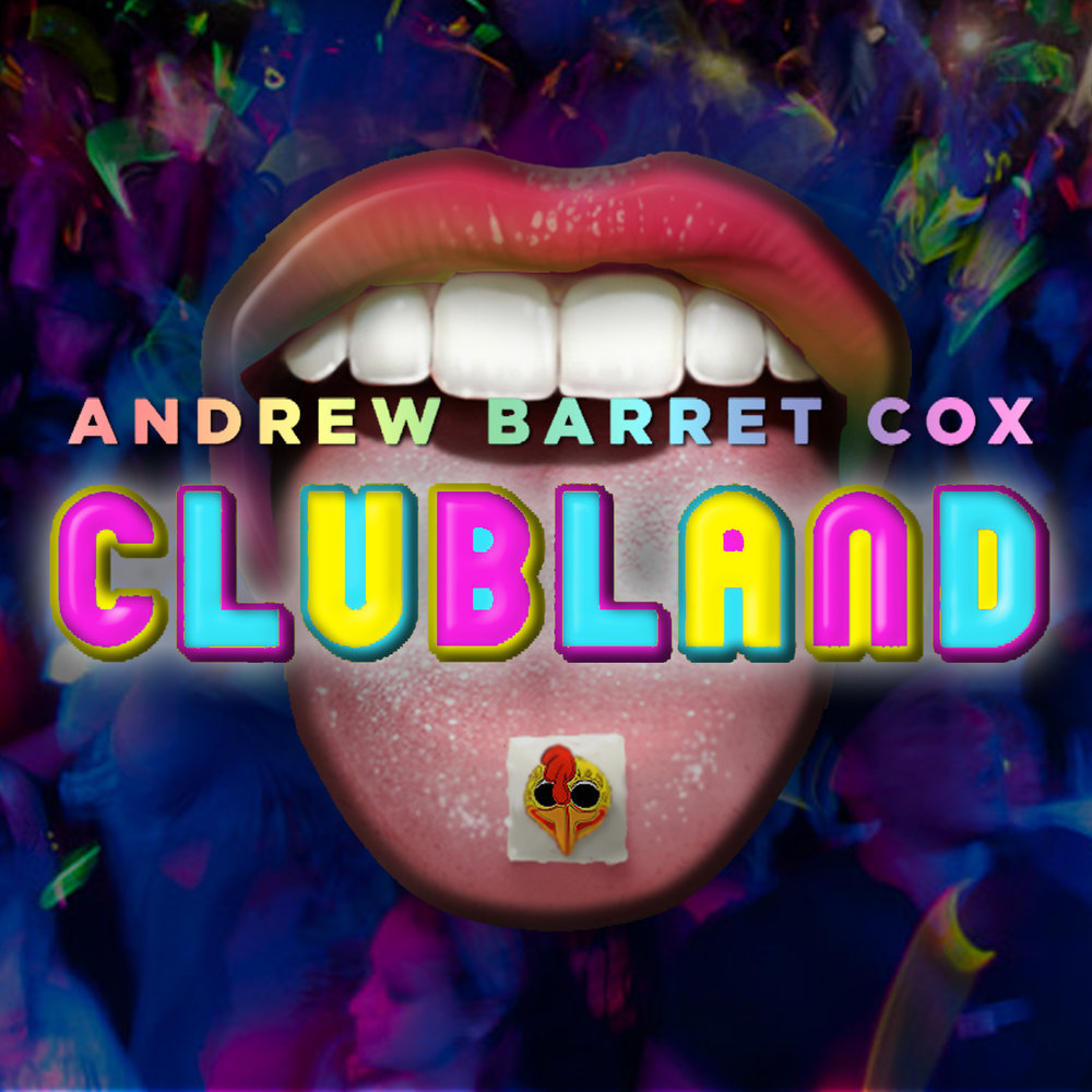 Book/ Music and Lyrics Andrew Barret Cox  Based on 2 very true stories, Andrew Barret Cox's immersive musical CLUBLAND bridges today with the downtown NYC Club scene of the early 90s at the pinacle of other worldly nightclub culture. As we follow a group of new age clubkids down the rabbit hole, we are led through a dark history and learn that history has a funny way of repeating itself. CLUBLAND premiered at the American Repertory Theatre's Club Oberon in 2013.
