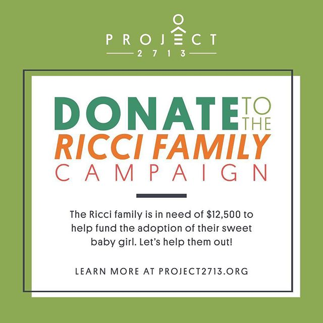 The Ricci Family is making great progress with your help! We are almost at 25% of their overall goal. Due to Nevada state laws they will be required to pay $6,000 to the adoption agency by mid April. Let's help them get there! Share this post, tag someone, and support adoption. Read their story and donate. Link in bio. . . . #christianadoption #sanangelo #sanangelotx #supportlocaladoption #texas #adoptionfacts #adoptionfundraiser #adoptionrocks #adoptionjourney #christiannonprofit #adoptionstory #riccifamilyadoption #supportlocal #fundraising #fundraiser #nonprofit #support #helpinghand #helpingfamilies #donate #donationsneeded #family #familyadoption #adopt #adoptdontshop